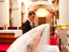 Catholic wedding at St. Thomas Church in Prague
