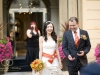 Свадьба в саду отеля Кемпински