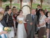 Wedding in Vineyard Gazebo