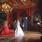 Свадьба в замке Сихрова - королевский зал