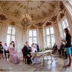 Свадьба в Вене - дворец Бельведер